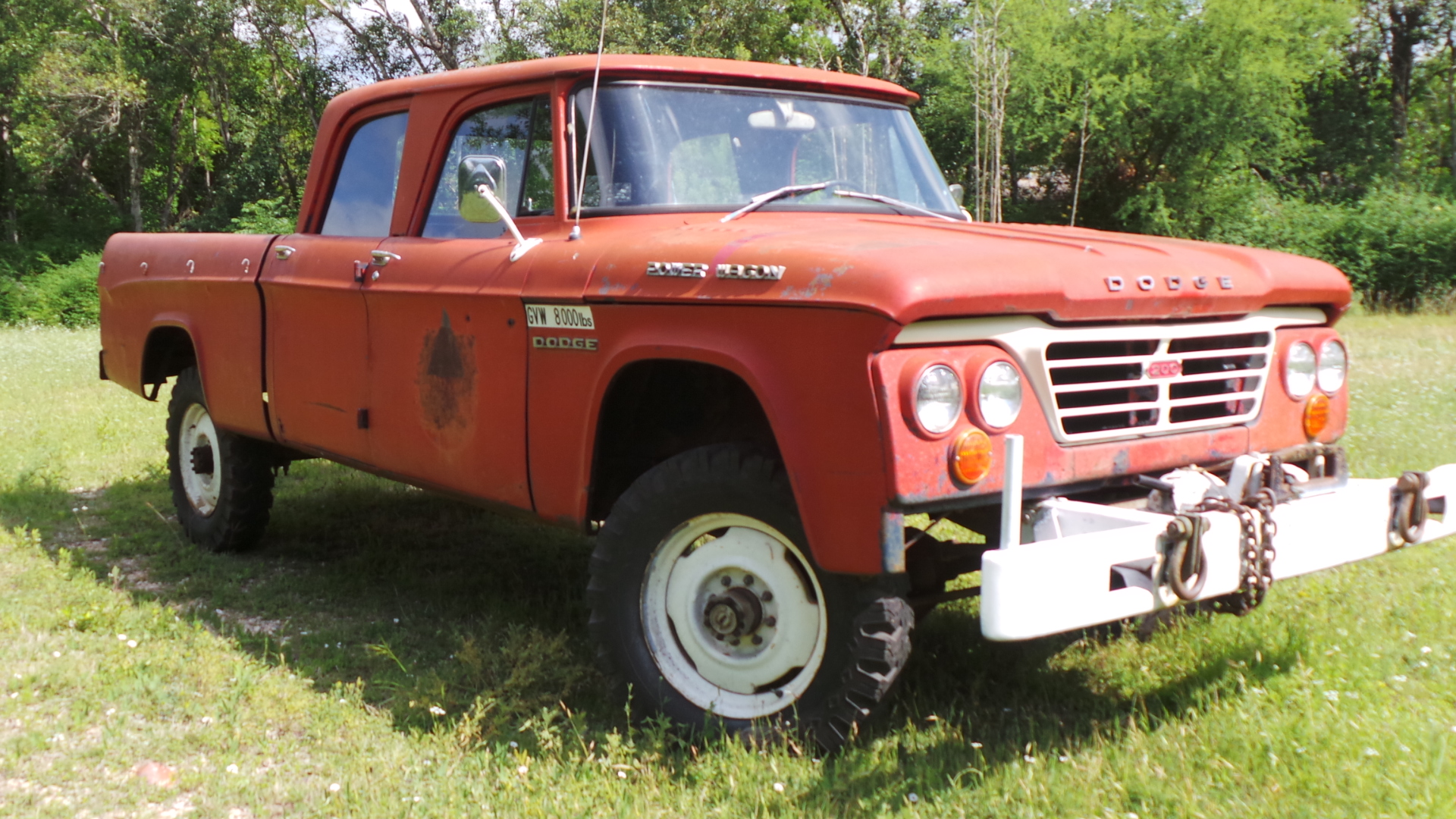 1963 dodge power wagon